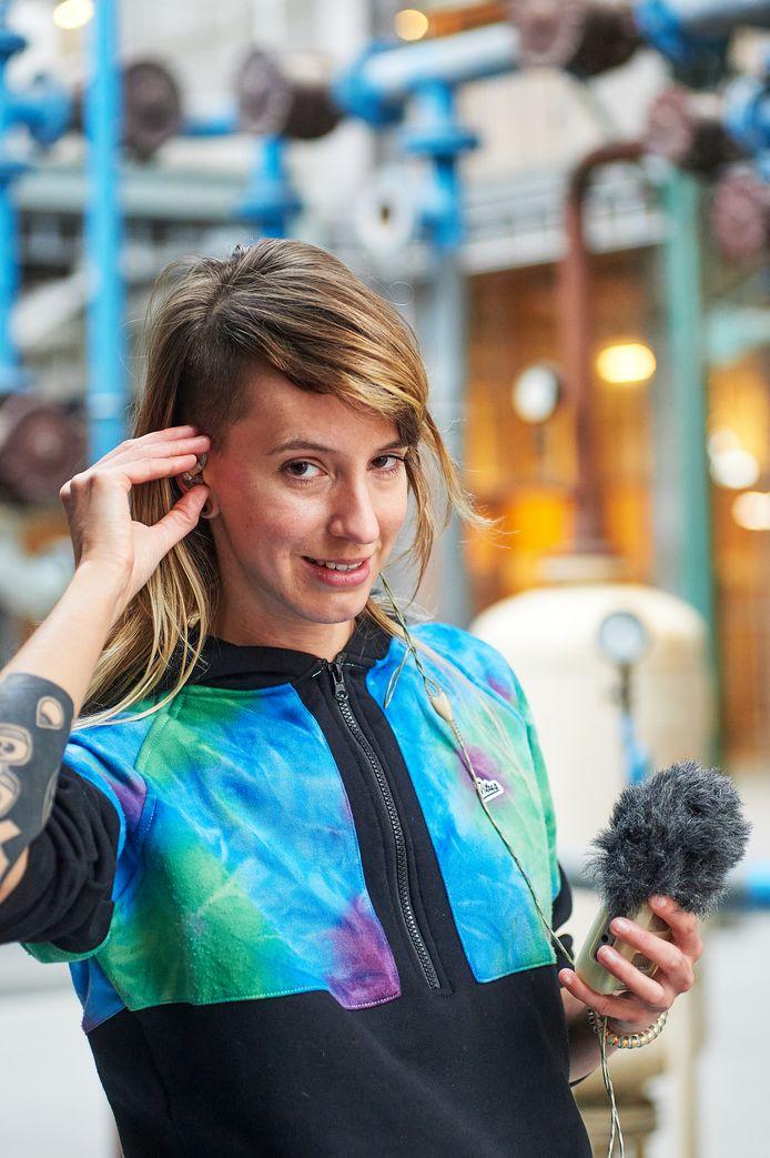 Geluidskunstenaar Angela de Weijer is stadscomponist van Meierijstad.