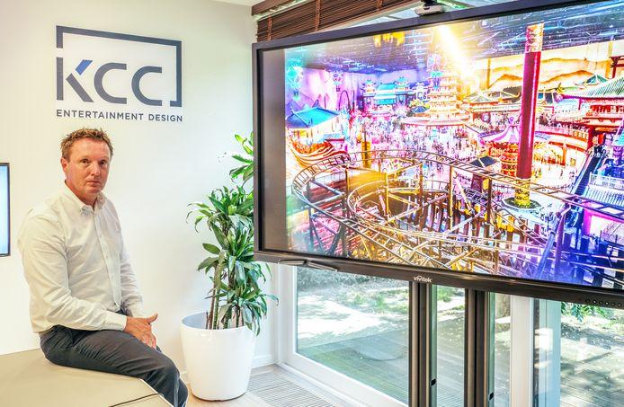 Yannick Maes (49) van KCC Entertainment Design in Wielsbeke.