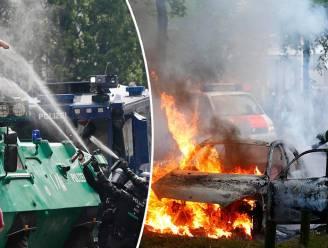 19.000 agenten, helikopters, boten en tanks: toch vraagt politie Hamburg versterking na zware rellen G20-top
