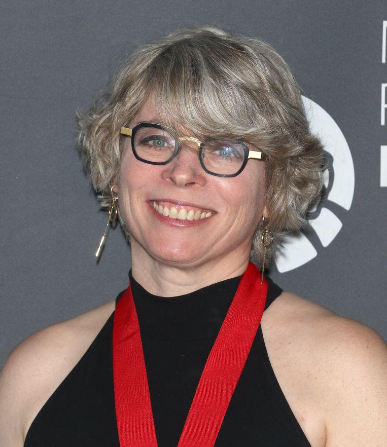 Jill Lepore, van wie dit weekeinde het uiterst actuele pamflet DitAmerika in Nederland verschijnt. Beeld Getty Images