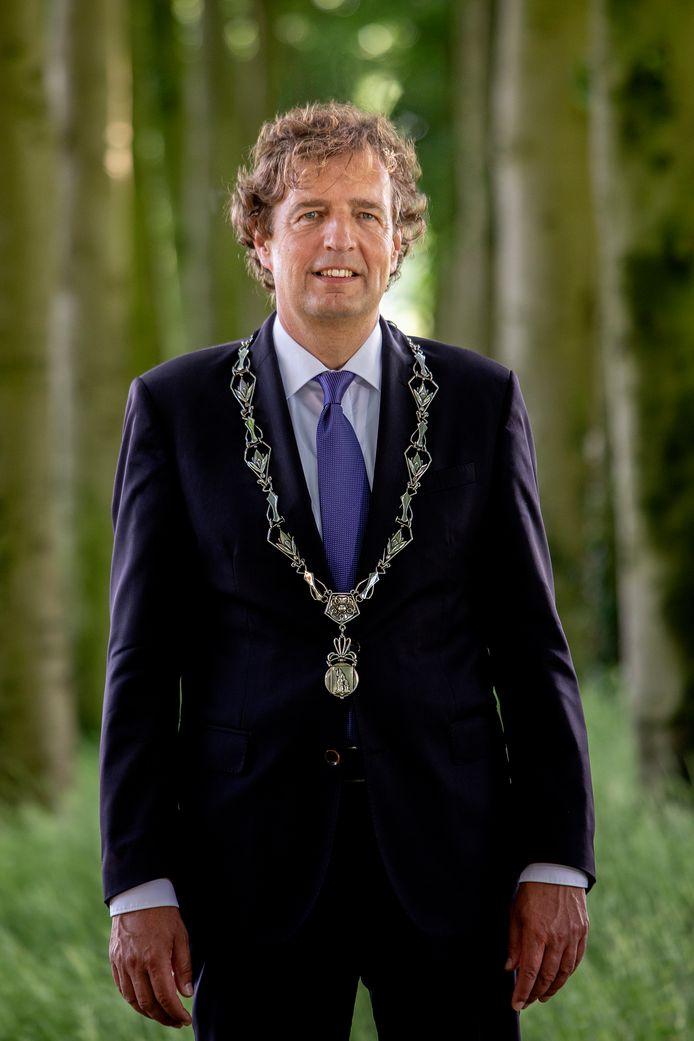 René Verhulst, burgemeester van Ede.