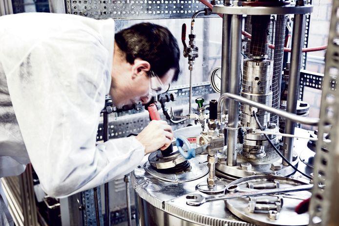 Ioniqa maakt van PET-flessen nieuwe polyestergrondstof. foto Ioniqa