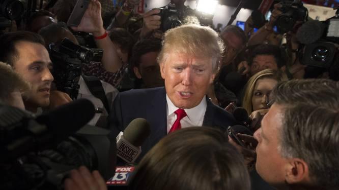 """Trump slikt """"blood wherever""""-uitspraak niet in"""