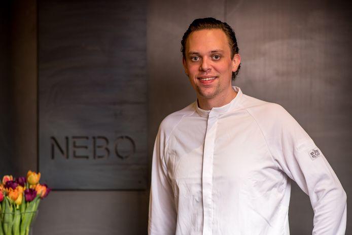 Chef en zaakvoerder van NEBO, Dimitri de Koninck