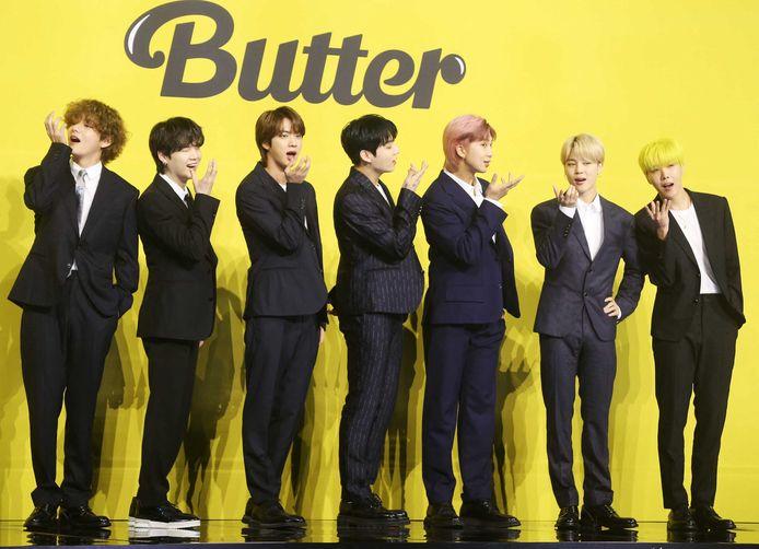 Dit soort kapsels, in dit geval van de Zuid-Koreaanse K-popband BTS, zijn voortaan verboden in Noord-Korea.