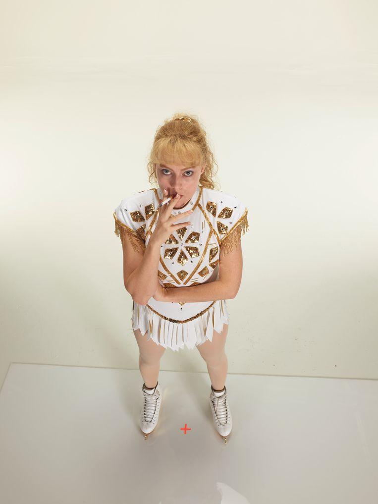 Margot Robbie als Tonya Harding. Beeld rv