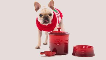 Wat een hondenleven! Je favoriete viervoeter kan binnenkort eten uit een eetbak van Le Creuset