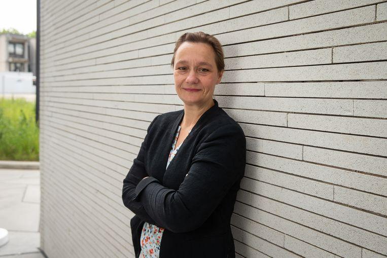 Professor Erika Vlieghe Beeld BELGA