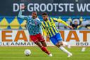 Ahmed Touba namens RKC in actie tegen Ajax.