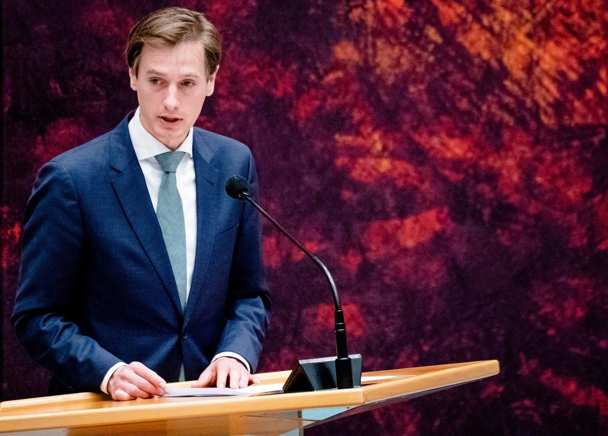 Laurens Dassen (VOLT) in de Tweede Kamer