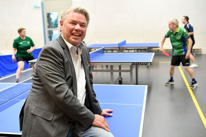 Coach Han Gootzen van ttv Maashorst uit Uden.