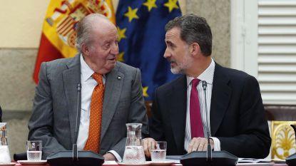 Spaanse koning Felipe wijst toekomstige erfenis af vanwege smeergeldaffaire vader Juan Carlos