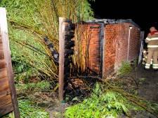 Schuurbrand in Arnhem