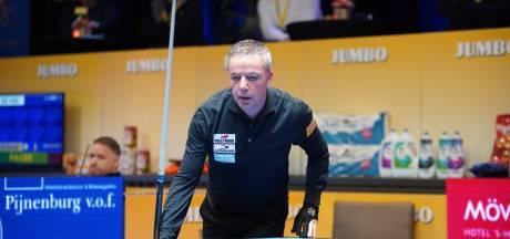 Dick Jaspers strandt in halve finale NK driebanden