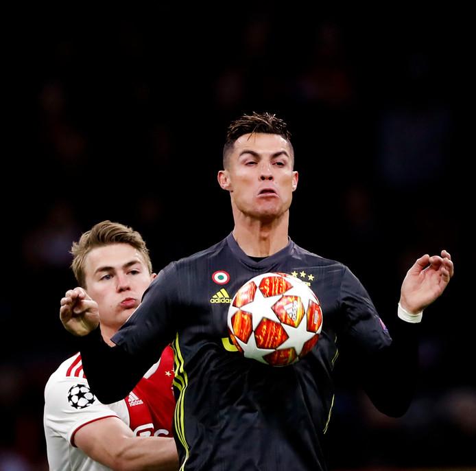 Ronaldo en Matthijs de Ligt.