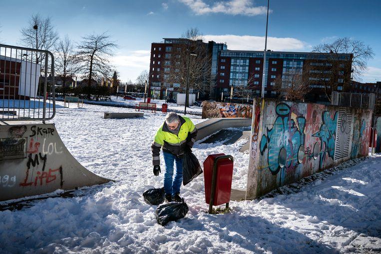 De skatebaan voor jongeren in Stadskanaal Beeld Reyer Boxem