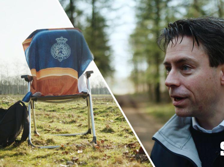 Zetelzoekers   Chris Stoffer (SGP) uit Elspeet: 'Alleen op deze manier kunnen koning en koningin rustig in het bos lopen'
