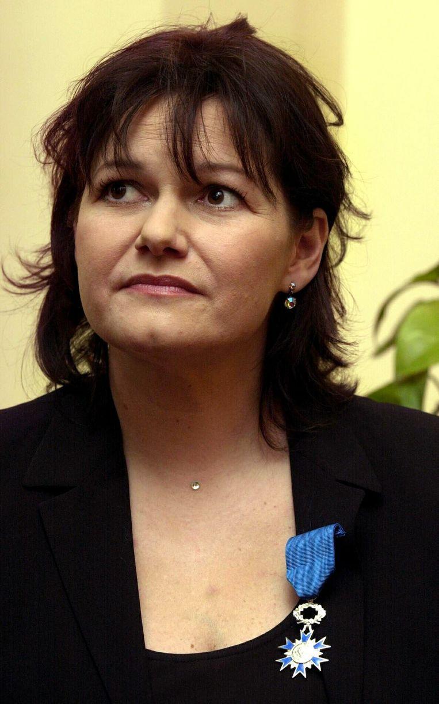 Maurane kreeg in ons land in 2003 de onderscheiding van ridder in de Kroonorde. In Frankrijk werd ze in 2011 gedecoreerd als officier in de Orde van Kunst en Letteren.  Beeld BELGA