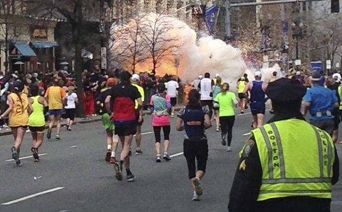 Aanslag tijdens de marathon in Boston, 15 april 2013