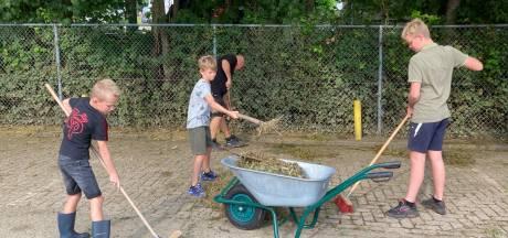 Na de zondvloed: Sportpark Wilhelmina'26 weer schoon