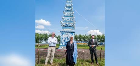 10.000 tulpenbollen geplant bij Delfts blauwe piramide