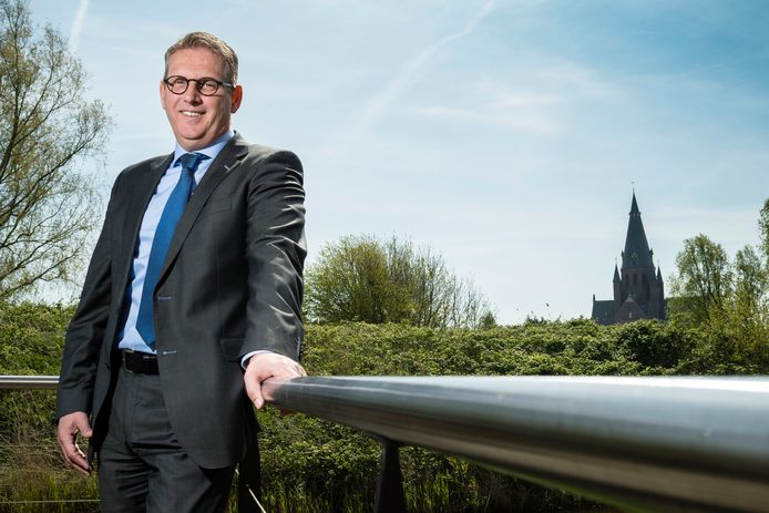 Burgemeester Ruud van den Belt.
