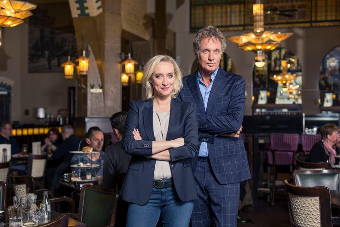 Eva Jinek en Jeroen Pauw strijken in maart neer in de Afzakkerij in Veghel.