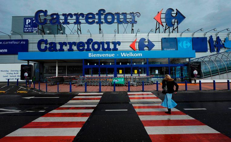 De hypermarkten van Carrefour zijn niet gewapend voor de uitdagingen van de eenentwintigste eeuw. Beeld AFP