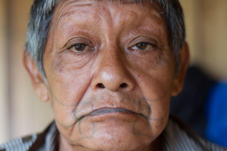 Aruká overleed vorige week aan de gevolgen van covid-19. Beeld Gabriel Uchida