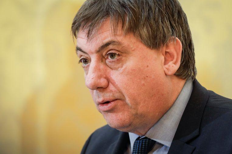 Minister van Binnenlandse Zaken Jan Jambon (N-VA) Beeld BELGA