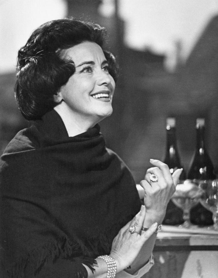 Lisa Della Casa in 1963. Beeld getty