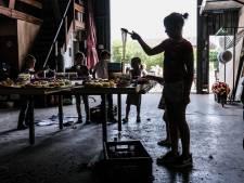 Jonge corsokunstenaars laten zich inspireren door Mondriaan