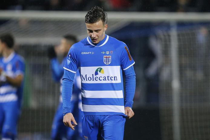 Denis Genreau vertrekt na dit seizoen bij PEC Zwolle.