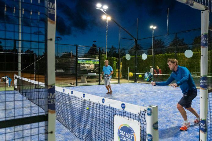 Bastion Baselaar wil met de padelbaan ook niet-tennissers aanspreken.