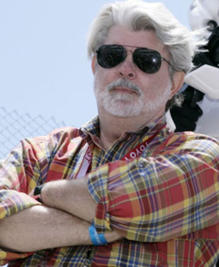 George Lucas. Beeld UNKNOWN