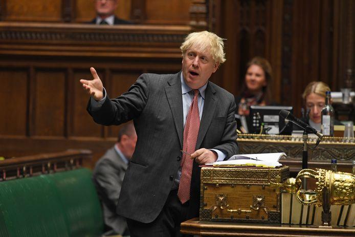 Premier Boris Johnson.