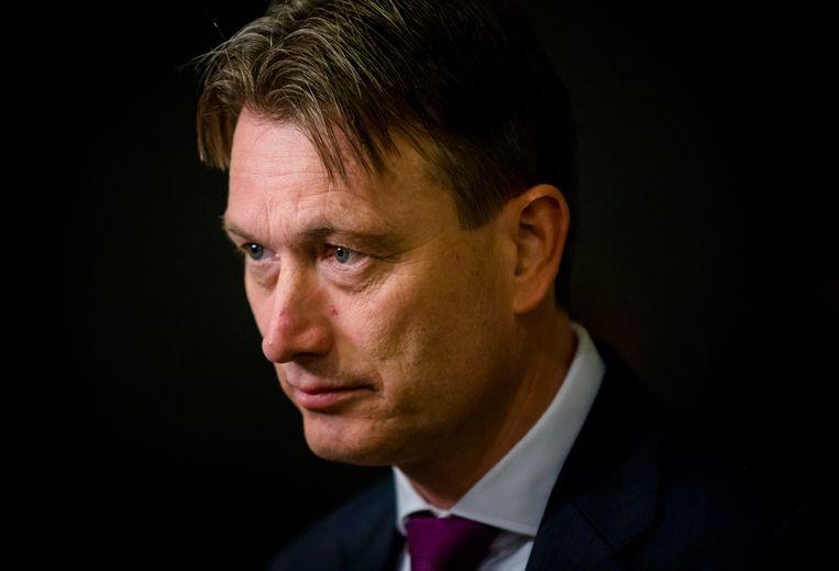 Voormalig minister van Buitenlandse Zaken (VVD) Halbe Zijlstra. Beeld ANP
