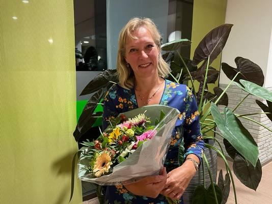 Mariska Sturkenboom, lijsttrekker voor DorpsGoed.