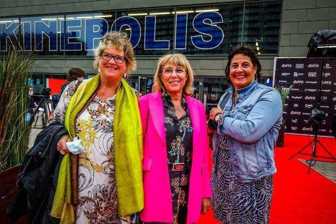 Mieke Allaert, Corinne Dufour en Els Henderyckx