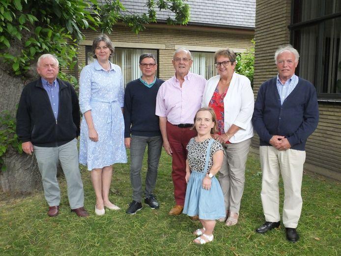 De nieuwe seniorenadviesraad van Deinze.