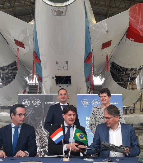 Fokker hoopt op orders van nieuwe partner Embraer: 'Samenwerking van groot belang'