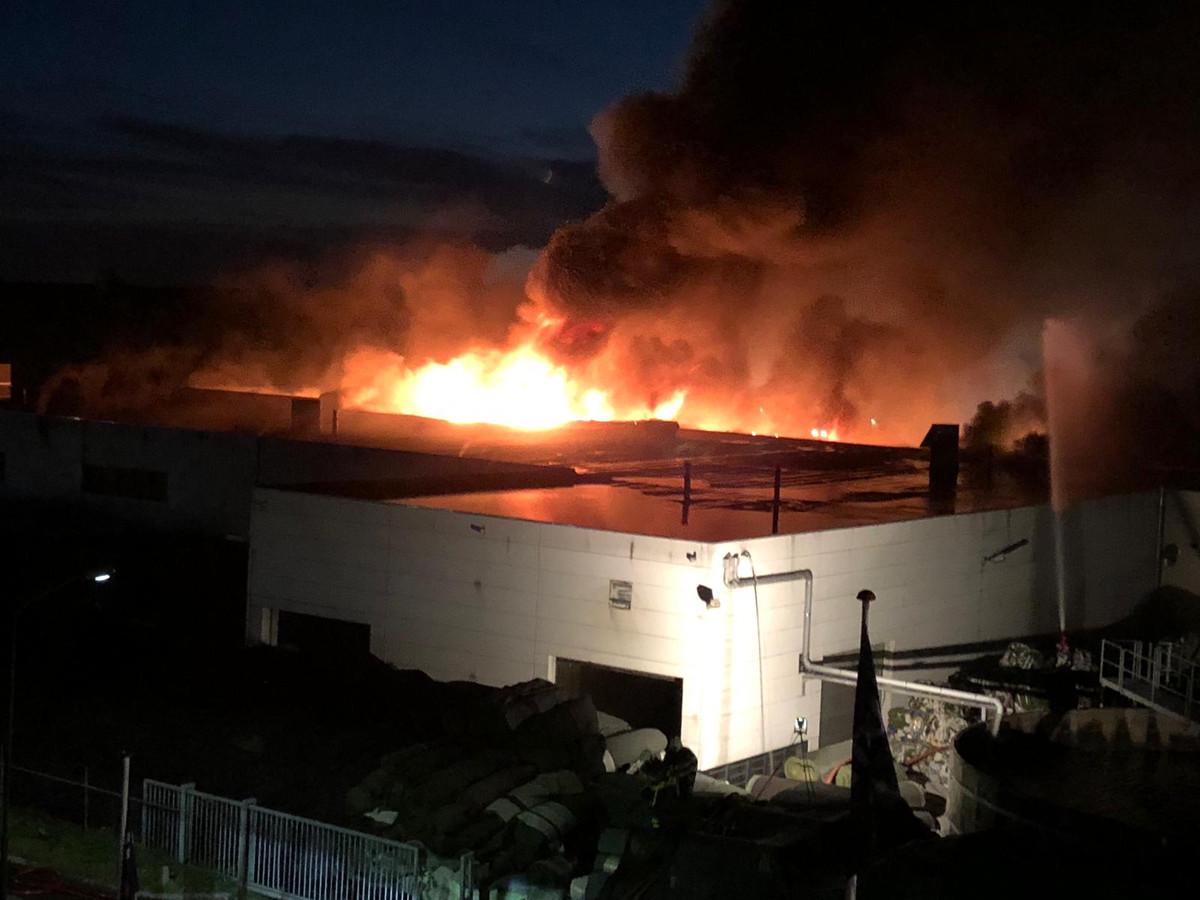 Op 11 oktober brak er brand uit bij Tuf.