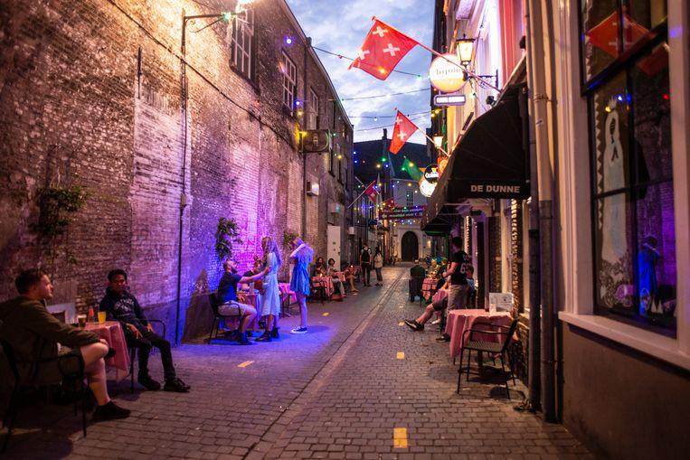 Een stapavond in de binnenstad van Breda. Beeld Roos Pierson