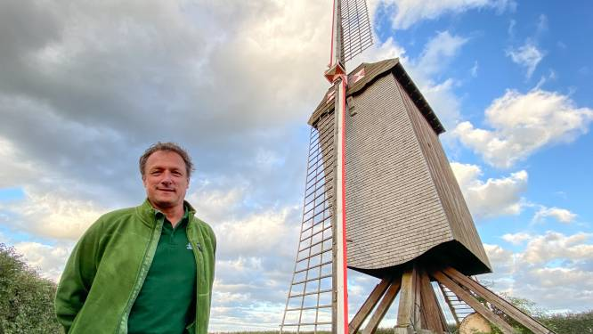 """Tissenhovemolen heeft speciale plek in hart van molenaar Bruun, ook al joeg die hem bijna de dood in: """"Ik popel om hem weer te laten draaien"""""""