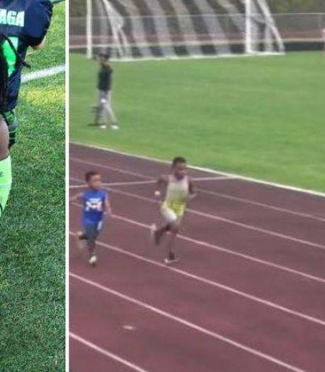 Des abdos en béton et des accélérations dignes de Usain Bolt: voici Rudolph, 7 ans