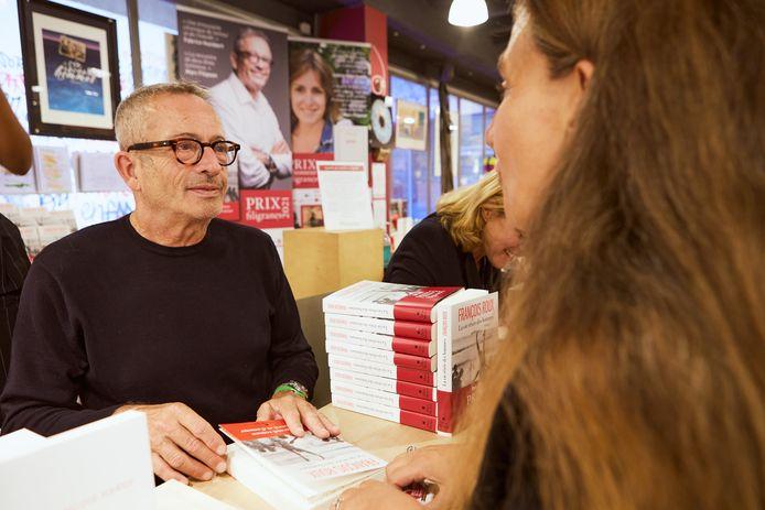 """François Roux a remporté le Prix Filigranes cette semaine avec le roman """"La vie rêvée des hommes""""."""