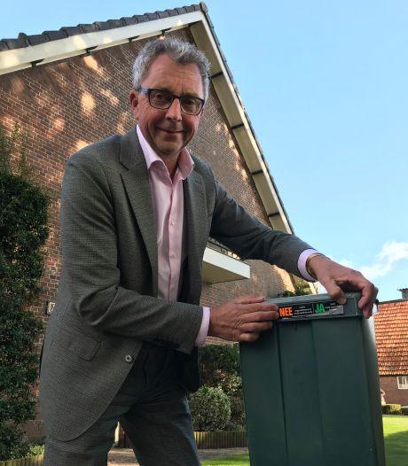 Inwoners Zundert krijgen stickers van gemeente om afvalstroom terug te dringen