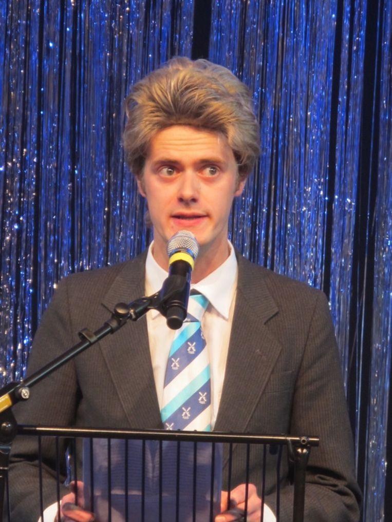 Wilders de musicalster - Sven Bijma.  <br /> Beeld