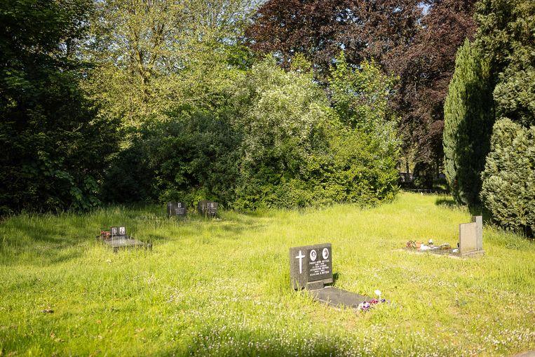 De Westerbegraafplaats in Gent, waar de feiten plaatsvonden. Beeld BELGA