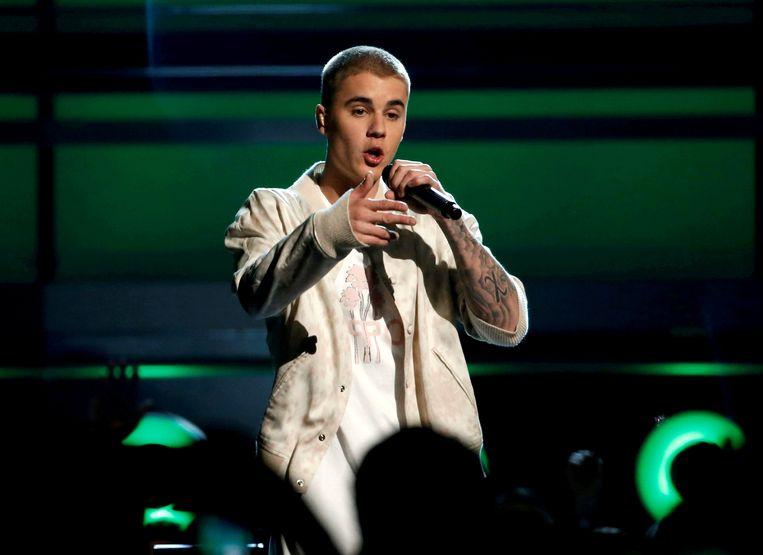 Het was Justin Bieber die 'Despacito' resoluut de westerse popmarkt inloodste.  Beeld REUTERS